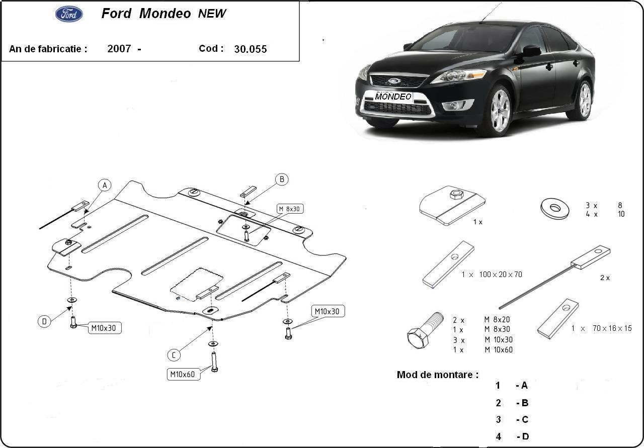 Scut motor Ford Mondeo III an 2007