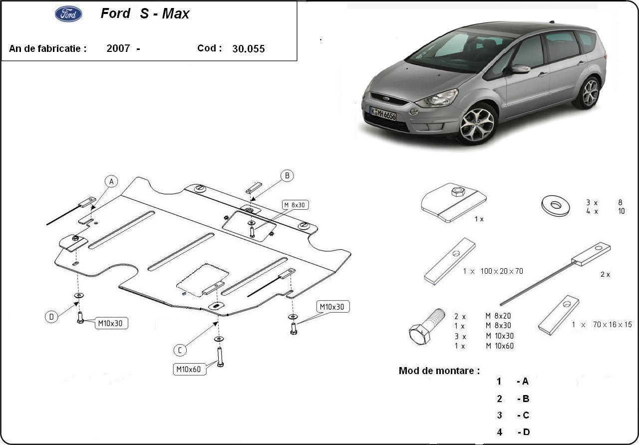 Scut motor Ford S-Max an 2007