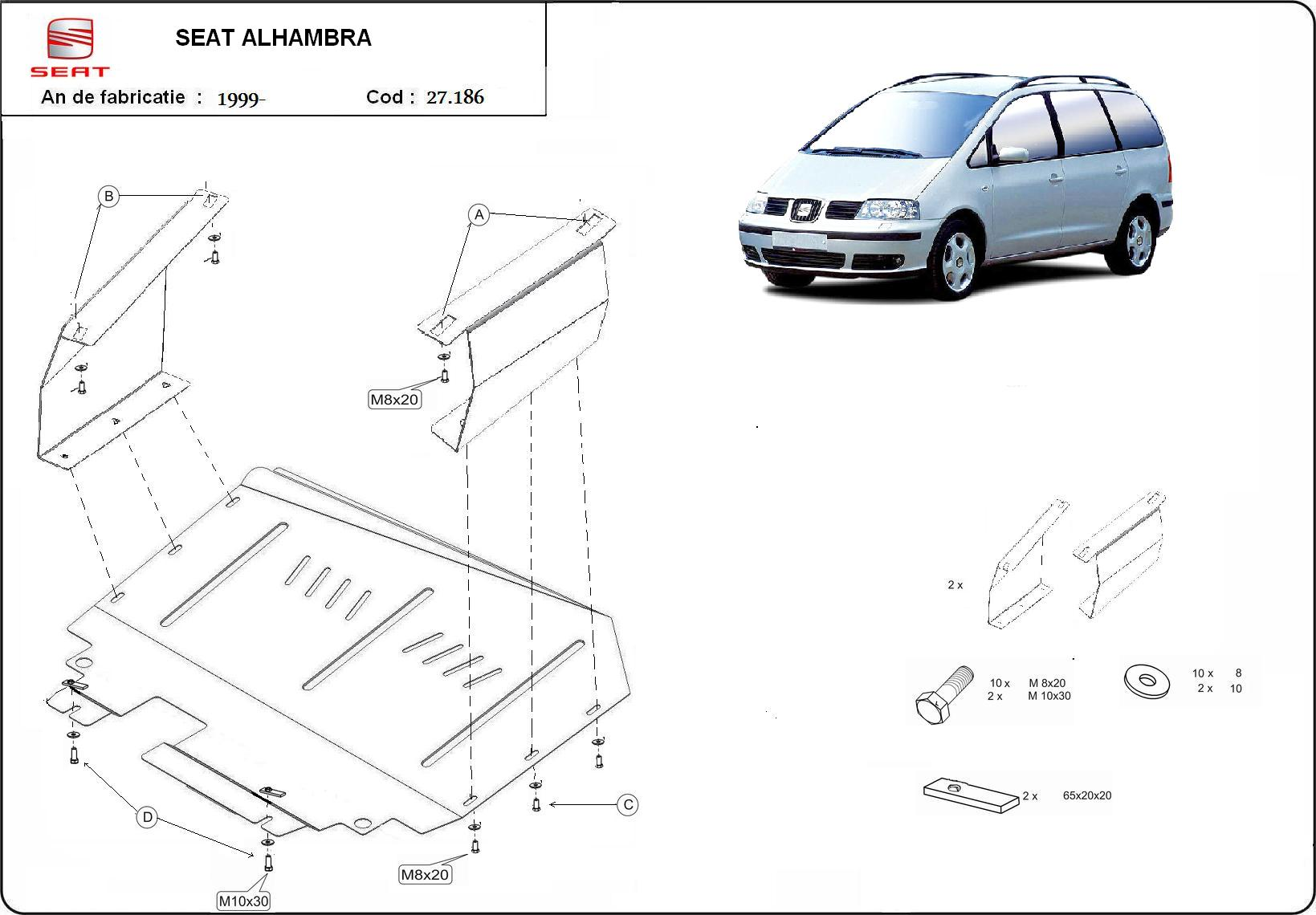 Scut motor Seat Alhambra toate an 1999